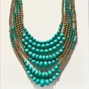 Park Lane Costa Mesa Turquoise Necklace New